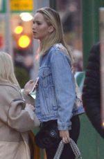 JENNIFER LAWRENCE in Denim Jacket Out in New York 04/01/2018