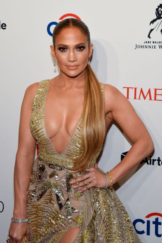 JENNIFER LOPEZ at 2018 Time 100 Gala in New York 04/24/2018