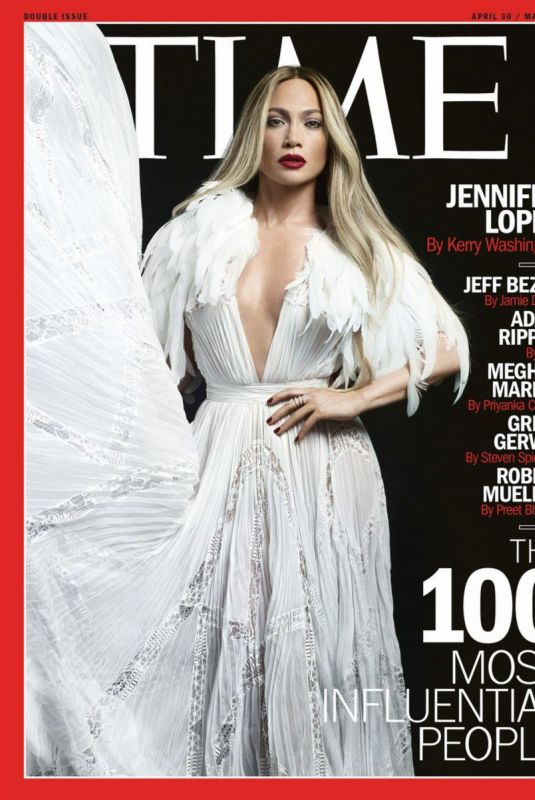 JENNIFER LOPEZ on the Cover od Time 100 Most Influential People, May 2018