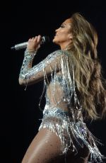 JENNIFER LOPEZ Performs at a Concert in Las Vegas 04/20/2018