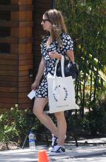 JENNIFER MEYER Out and About in Beverly Hills 04/10/2018