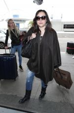 JENNIFER TILLY at Los Angeles International Airport 04/06/2018
