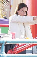JESSICA ALBA on the Set of An Untitled Bad Boys Spinoff in Los Angeles 04/03/2018
