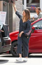 JESSICA ALBA Out Shopping in Los Angeles 04/24/2018