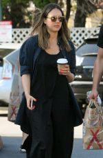 JESSICA ALBA Shopping at Bristol Farms in Beverly Hills 04/14/2018