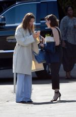 JESSICA BIEL and ALISON BRIE Out in Los Angeles 04/28/2018