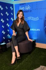 JESSICA BIEL at American Express Experience in New York 04/09/2018