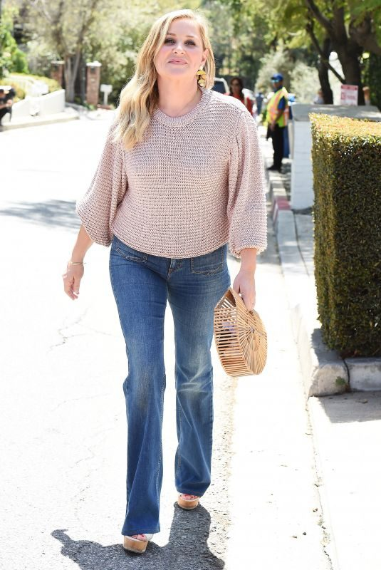 JESSICA CAPSHAW Out in Los Angeles 04/11/2018