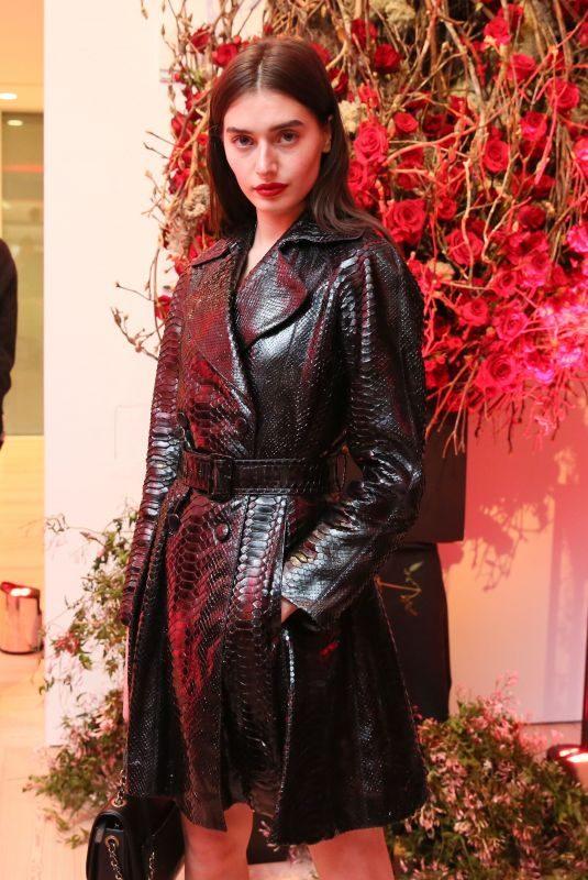 JESSICA CLEMENTS at Giorgio Armani Si Passione Fragrance & Vogue Launch in New York 04/05/2018