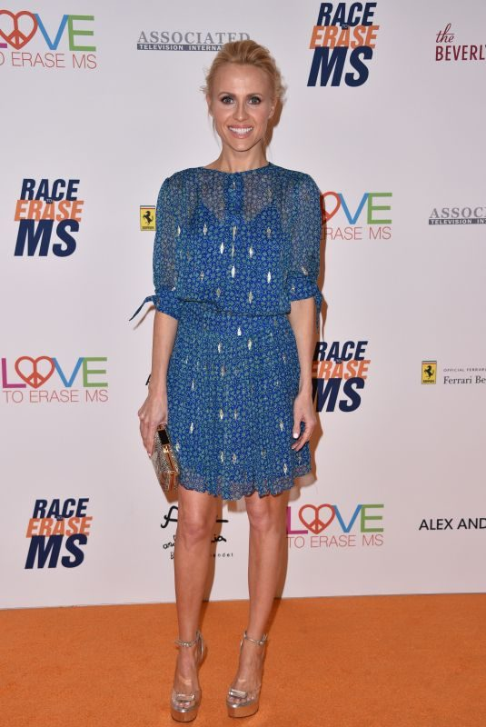 JESSICA HOLMES at Race to Erase MS Gala 2018 in Los Angeles 04/20/2018