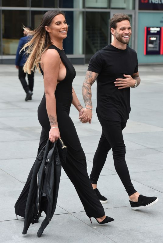 JESSICA SHEARS Out and About in Manchester 04/26/2018