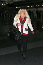 JESSICA SIMPSON at JFK Airport in New York 03/22/2018