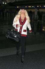 JESSICA SIMPSON at JFK Airport in New York 03/22/2018