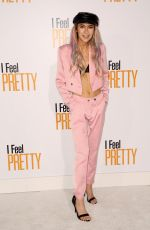 JESSIE PAEGE at I Feel Pretty Premiere in Los Angeles 04/17/2018
