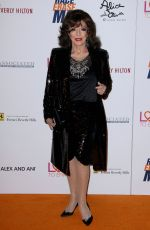 JOAN COLLINS at Race to Erase MS Gala 2018 in Los Angeles 04/20/2018