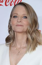 JODIE FOSTER at Big Screen Achievement Awards at Cinemacon in Las Vegas 04/26/2018