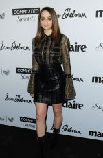 JOEY KING at Marie Claire Fresh Faces Party in Los Angeles 04/27/2018