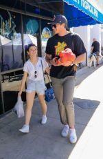 JOEY KING Heading to Farmers Market in Los Angeles 04/22/2018