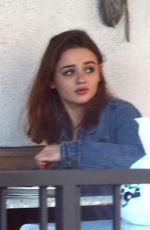 JOEY KING Out for Lunch at Hugo