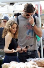 JOEY KING Out in Studio City 04/15/2015