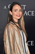 JORDANA BREWSTER at A Quiet Place Premiere in New York 04/02/2018