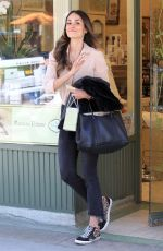 JORDANA BREWSTER Out Shopping in Beverly Hills 04/18/2018