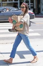 JORDANA BREWSTER Out Shopping in Los Angeles 04/13/2018