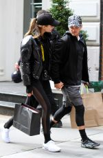 JOSEPHINE SKRIVER and Alexander Deleon Out Shopping in New York 04/06/2018