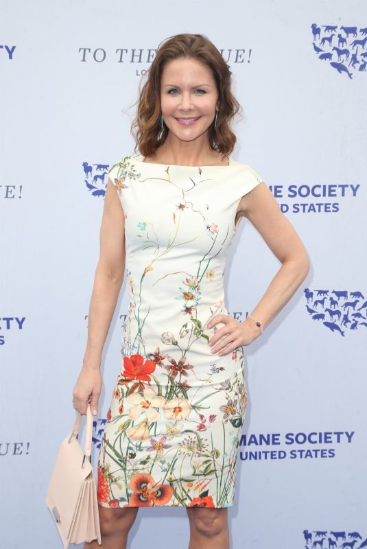 JOSIE DAVIS at Humane Society of the United States' To the Rescue Gala in Los Angeles 04/21/2018