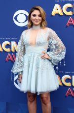 JULIA MICHAELS at 2018 ACM Awards in Las Vegas 04/15/2018