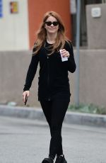 JULIANNE HOUGH Heading to a Gym in Los Angeles 04/02/2018