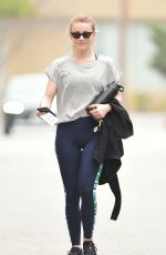 JULIANNE HOUGH Leaves a Gym in Los Angeles 04/05/2018