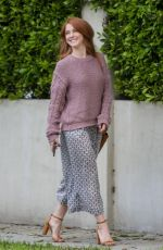 JULIANNE HOUGH Out and About in Los Angeles 04/04/2018