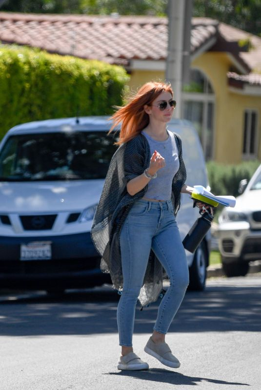 JULIANNE HOUGH Out and About in West Hollywood 04/17/2018