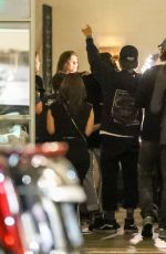 KAIA GERBER and Justin Bieber at a Friend