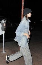 KAIA GERBER Arrives at Madison Beer Concert in Los Angeles 04/26/2018