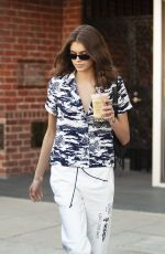 KAIA GERBER at Urth Cafe in Beverly Hills 04/10/2018