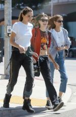 KAIA GERBER Out and About in Malibu 04/23/2018