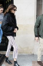 KAIA GERBER Out and About in Paris 04/05/2018
