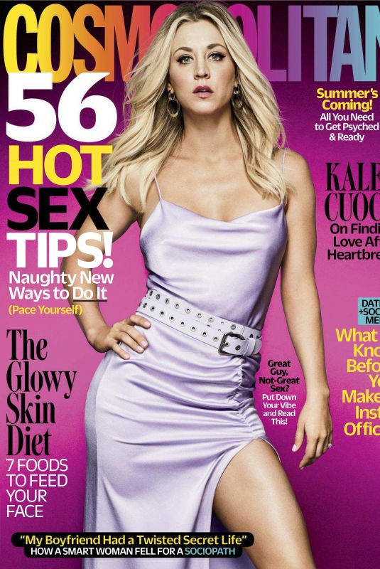 KALEY CUOCO in Cosmopolitan Magazine, May 2018 Issue
