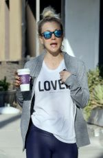 KALEY CUOCO Leaves a Gym in Studio City 04/11/2018