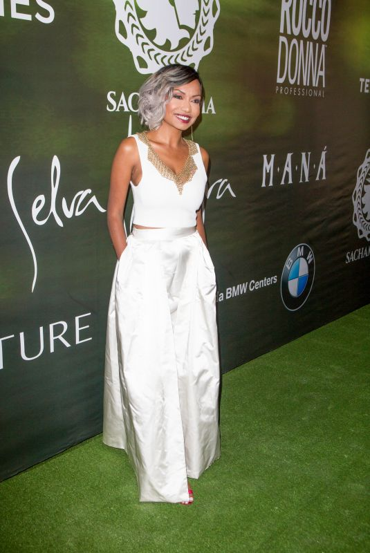 KALISTA ZACKHARIYAS at Sachamama Green Gala Awards in Miami 04/21/2018