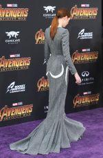 KAREN GILLAN at Avengers: Infinity War Premiere in Los Angeles 04/23/2018