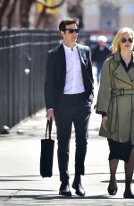 KARLIE KLOSS and Joshua Kushner Out in New York 04/01/2018