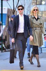 KARLIE KLOSS and Joshua Kushner Out in New York 04/01/2018