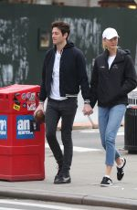 KARLIE KLOSS and Joshua Kushner Out in New York 04/07/2018