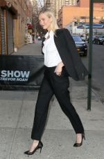 KARLIE KLOSS Arrives at Daily Show in New York 04/12/2018