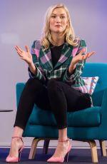 KARLIE KLOSS at Iron School Talk in London 04/09/2018