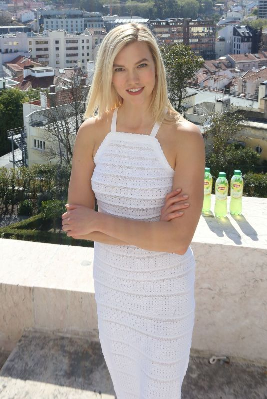KARLIE KLOSS at Lipton Matcha Green Tea Launch in Lisbon 04/18/2018