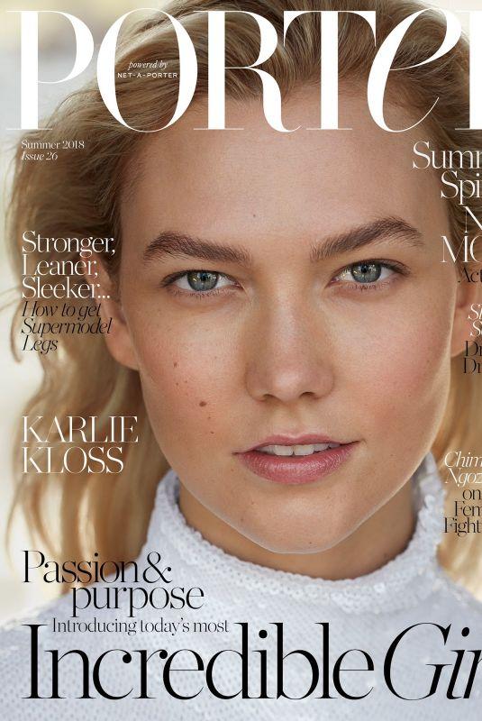 KARLIE KLOSS in Porter Magazine #26 Summer 2018